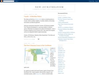 newurbanist.blogspot.com screenshot