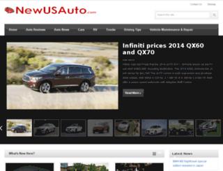 newusauto.com screenshot