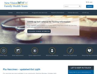 newvisionhealth.ca screenshot