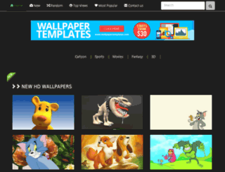 newwall.demowallpapertemplates.com screenshot
