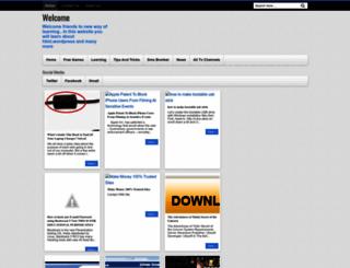 newwayoflearnings.blogspot.com screenshot