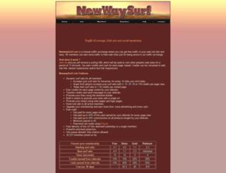 newwaysurf.com screenshot