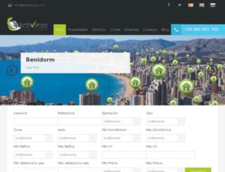 newweb.activanza.com screenshot