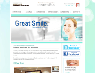 newweststationdental.ca screenshot
