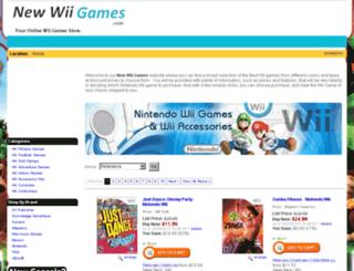 newwii-games.com screenshot