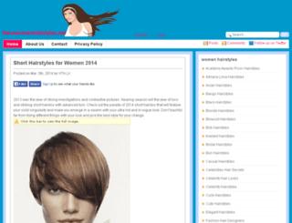 newwomenhairstyles.net screenshot