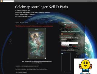 newworldastrology.blogspot.com screenshot