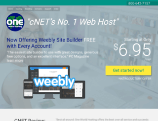 newworldhosting.com screenshot