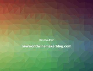 newworldwinemakerblog.com screenshot