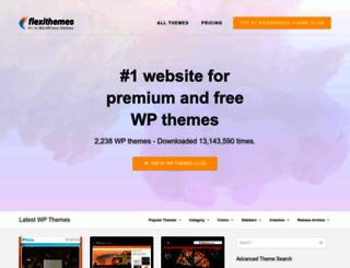 newwpthemes.com screenshot