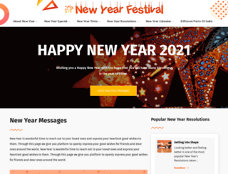 newyearfestival.com screenshot