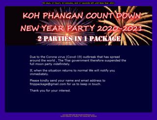 newyearpartykohphangan.com screenshot