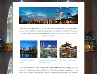 newyearsevekualalumpur.com screenshot