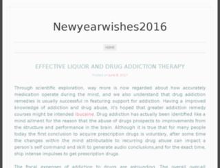 newyearwishes2016.org screenshot