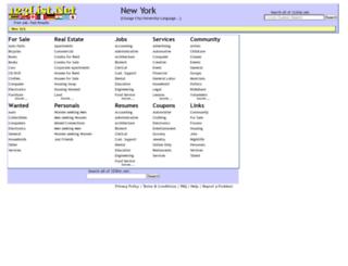 newyork.123list.net screenshot