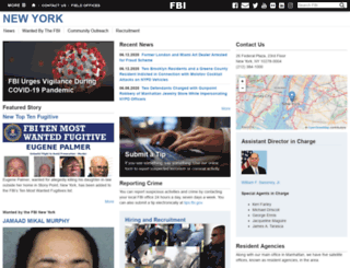 newyork.fbi.gov screenshot