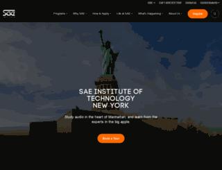 newyork.sae.edu screenshot