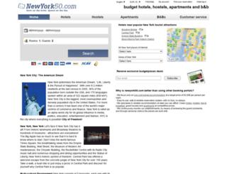 newyork50.com screenshot