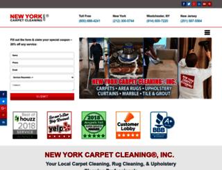 newyorkcarpetcleaning.com screenshot