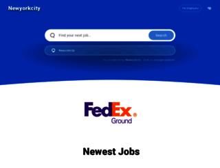 newyorkcity.jobing.com screenshot