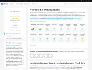 newyorkcompany.knoji.com screenshot