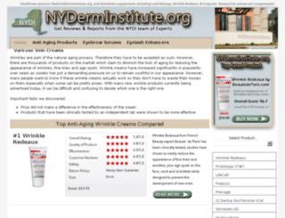 newyorkderminstitute.org screenshot