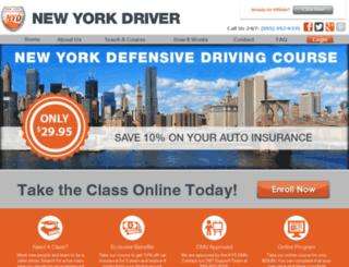 newyorkdriver.com screenshot