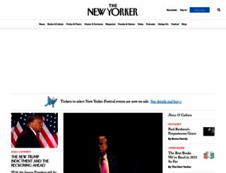 newyorker.com screenshot