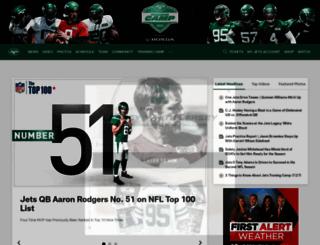 newyorkjets.com screenshot