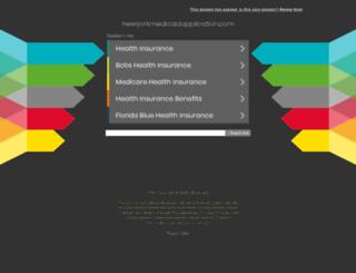 newyorkmedicaidapplication.com screenshot