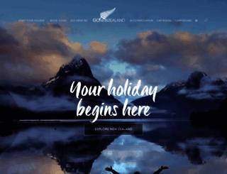 newzealand.com.au screenshot