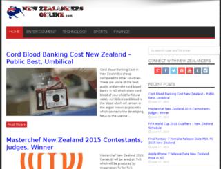 newzealandersonline.com screenshot