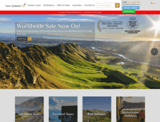 newzealandsky.ie screenshot