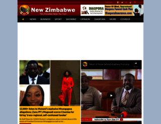 newzimbabwe.com screenshot