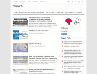 newzpk.com screenshot