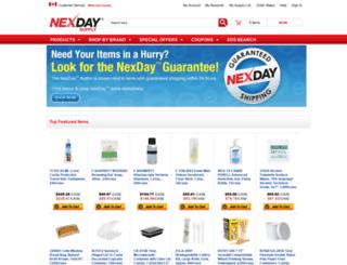 nexdaysupply.ca screenshot