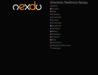nexdu.com screenshot