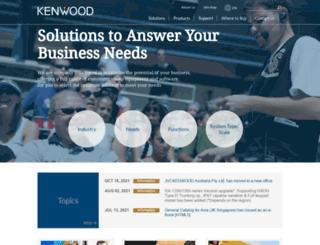 nexedge.kenwood.com screenshot
