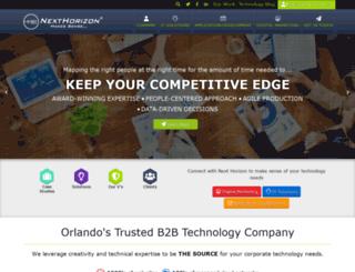 nexhorizon.net screenshot