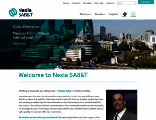 nexia-sabt.co.za screenshot