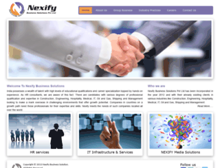 nexifyglobal.com screenshot