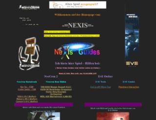 nexis-guides.npage.de screenshot