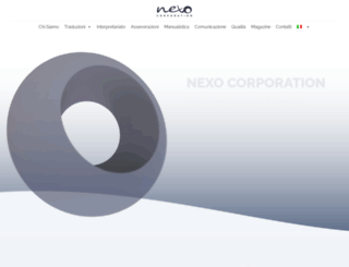 nexocorp.com screenshot