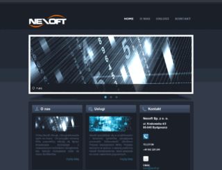 nexoft.pl screenshot