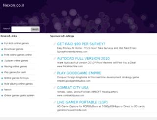 nexon.co.il screenshot