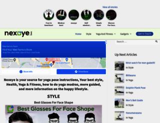 nexoye.com screenshot