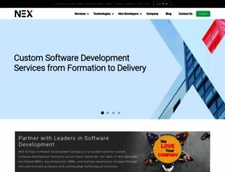 nexsoftsys.com screenshot