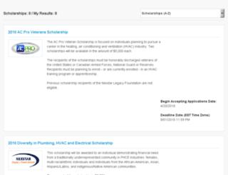 nexstarscholars.communityforce.com screenshot