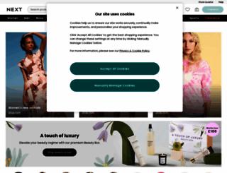 next.co.uk screenshot