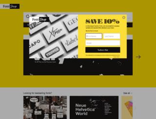next.fontshop.com screenshot